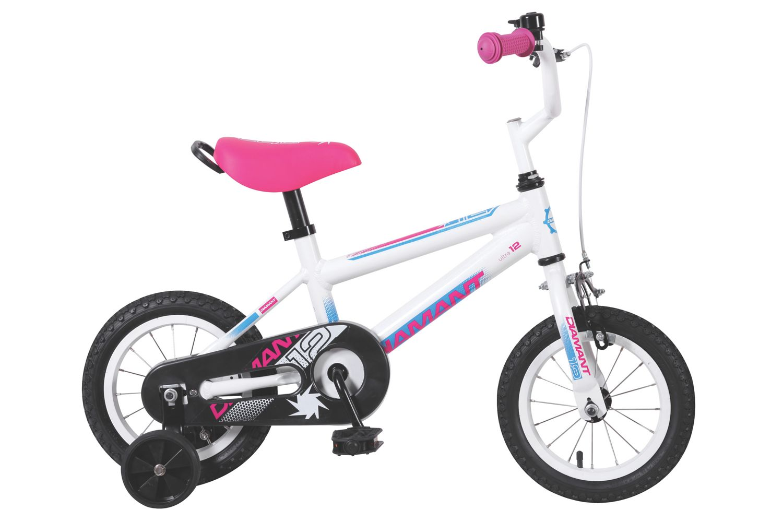 DIAMANT Ultra 12 Pink Barnesykkel