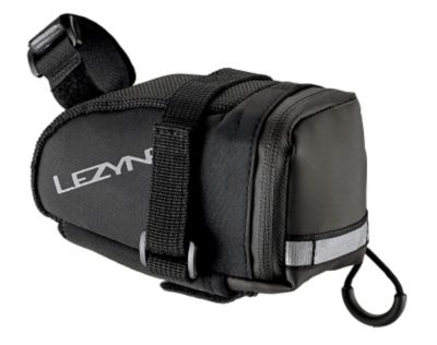 Lezyne Medium Sadelveske (Sort/Sort)