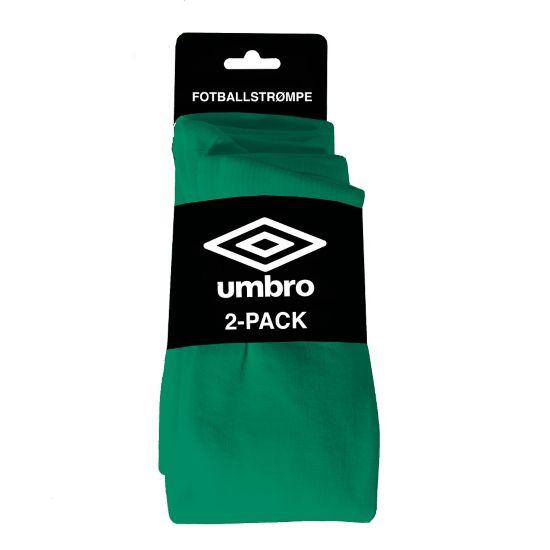 Fotballstrømpe 2 Pk GREEN/WHITE