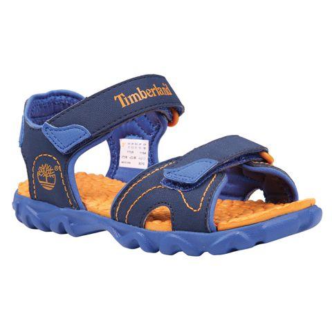 Splashtown 2 Strap Sandal (32-35) BLUE