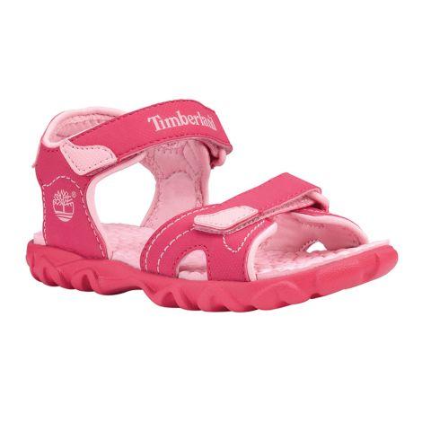 Splashtown 2 Strap Sandal (32-35) PINK