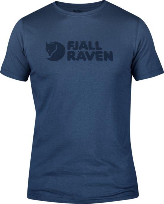 Fjällräven Logo T-skjorte Herre UNCLE BLUE