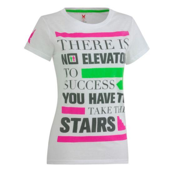 Attitude T-skjorte Dame WHITE