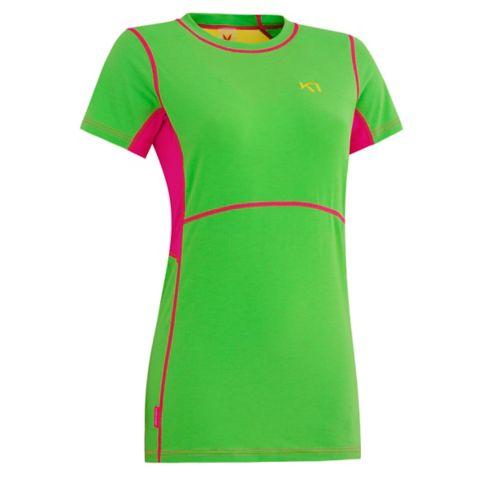 Svala T-Skjorte Dame GREEN