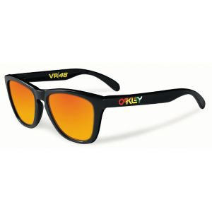 Frogskins VR46 Fire Iridium - Polished Black