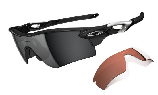 Oakley Radarlock Path Polished Black/Black Iridium & Vr28
