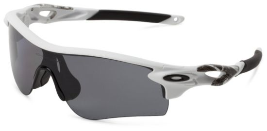 Radarlock Path Matte White/Grey Polarized & Vr28 B
