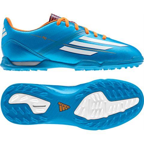 F10 TF Fotballsko Grus Jr. SOLBLU/RUNWH