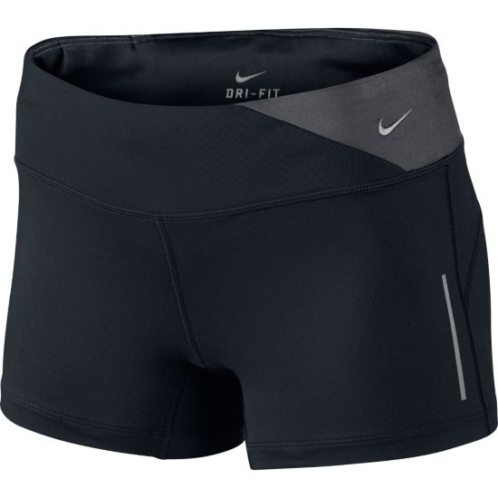 DF Epic Run Shorts Dame 011-BLACK/BLACK