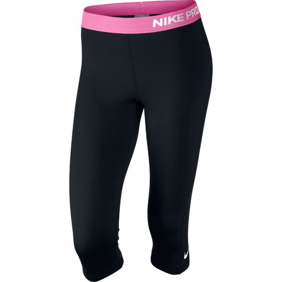 Pro Capri Tights Dame 011-BLACK/PINK