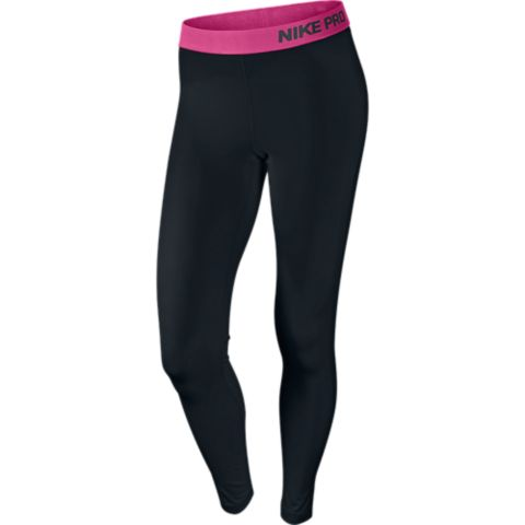 Pro Tights Dame BLACK/VIVID PIN
