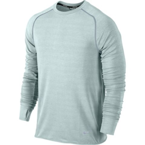 Dri-Fit Sprint Crew Løpeoverdel 331-SEA SPRAY/S