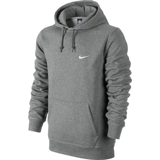Club Hoody Hettegenser Herre DK GREY HEATHER