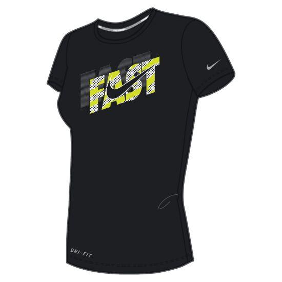 Run Graphic Legend T-skjorte Dame