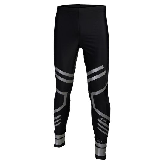Vistech O2 tights long Mens SORT