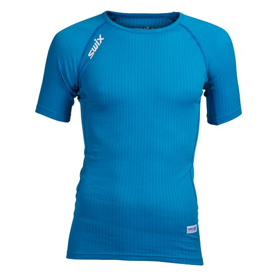 RaceX Superundertøy T-skjorte Herre AQUA/BRIGHT WHI