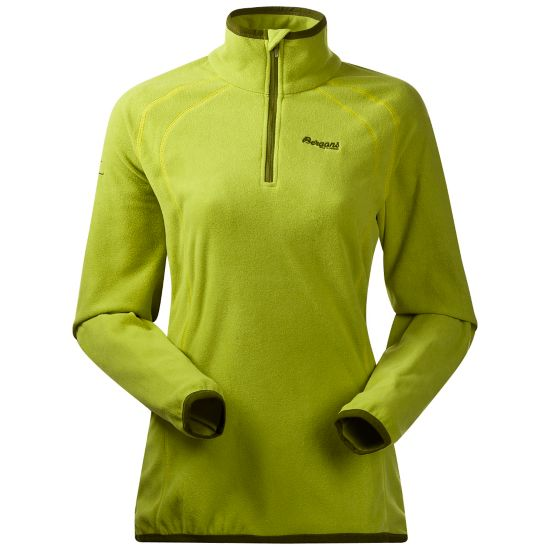 Ombo Half Zip Fleecegenser Dame LIME/GREEN TEA