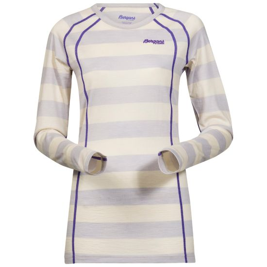 Fjellrapp Ulltrøye Dame WHITE STRIPED/F