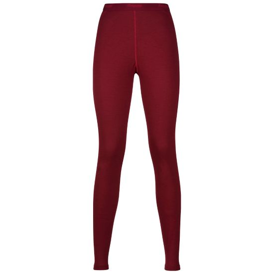 Fjellrapp Ullbukse Dame BURGUNDY/RED