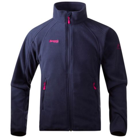 Bolga Youth Fleecejakke Junior NAVY/HOT PINK
