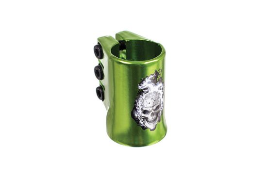 MGP Oversize Triple Clamp GREEN