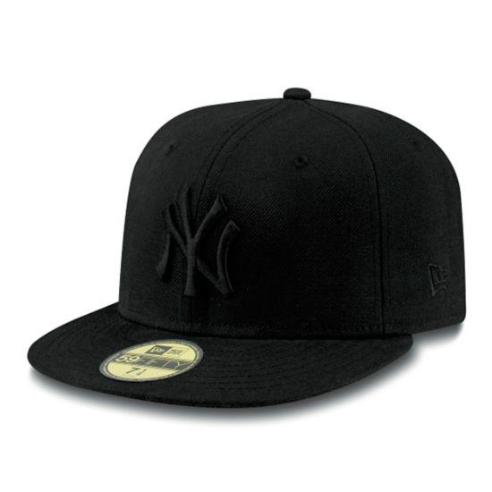 59Fifty New York Yankees Caps BLACK/BLACK