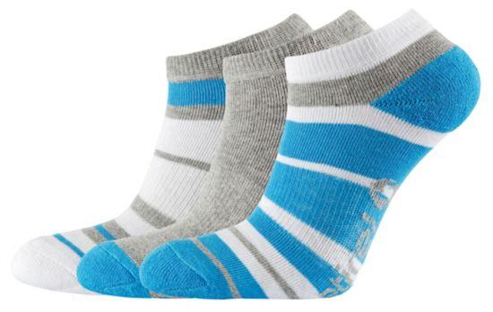 Urrika 3-Pack Sokker Jr BLUE/WHIT/GREY