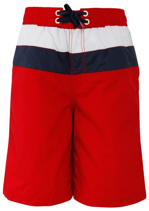 Lua Badeshorts Junior RED/NAVYDK/WHT