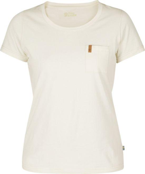 Övik T-skjorte Dame ECRU
