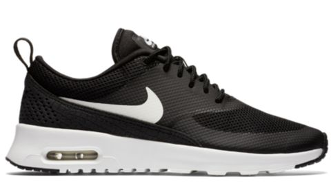 Wmns Air Max Thea Fritidssko Dame  020-BLACK/SUMMI