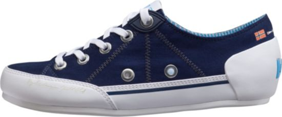 Latitude 90 Canvas Fritidssko Dame NAVY / WHITE /