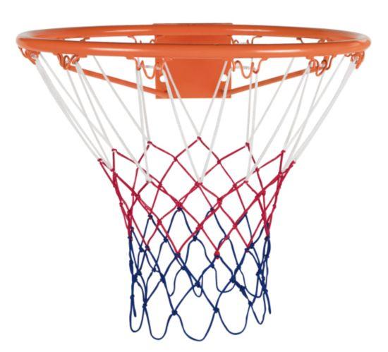 Basketball ring og nett
