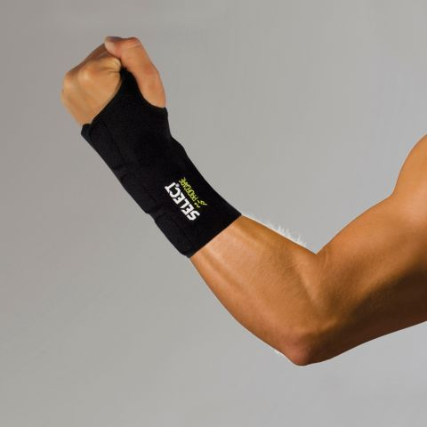 Profcare 6701H håndleddsstøtte med skinne SORT