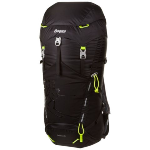 Rondane Tursekk 38L BLACK/NEONGREEN
