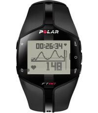 Polar Ft80 Blk Wd