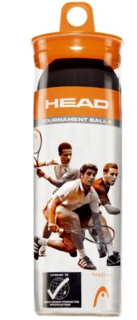 Tournament Squashballer 3 Stk