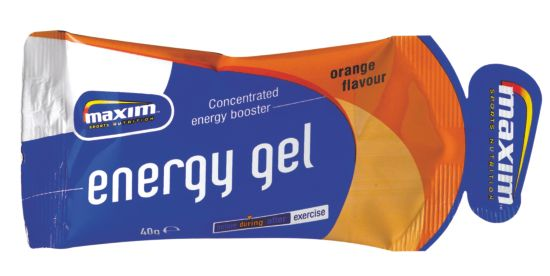 Maxim Energy Gel 40G Orange