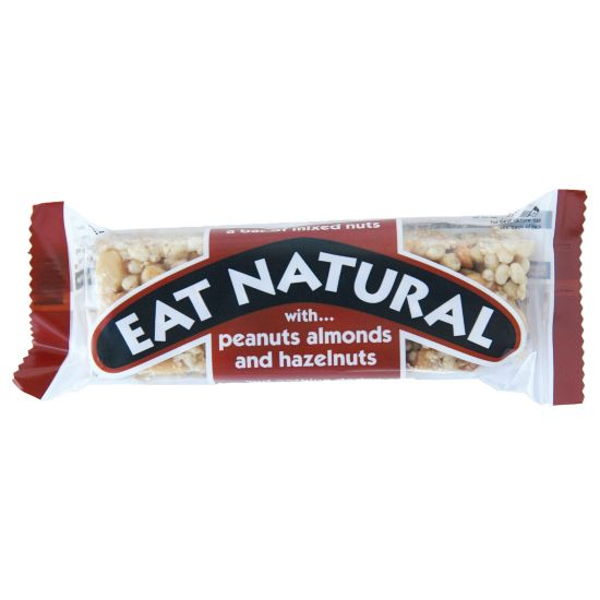 Mixed Nut/Peanut & Haseln Energi Bar