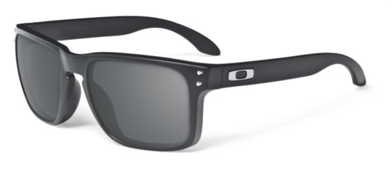 Holbrook  Matte Black/Warm Grey Solbrille