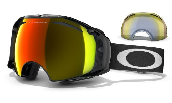 Airbrake Jet Black - Fire Iridium & H.I Yellow glass