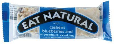 Eat Natural Eat Natural Cashew Bluberry Youghurt Energi Bar
