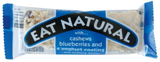 Eat Natural Eat Natural Cashew Bluberry Youghurt Energi Bar