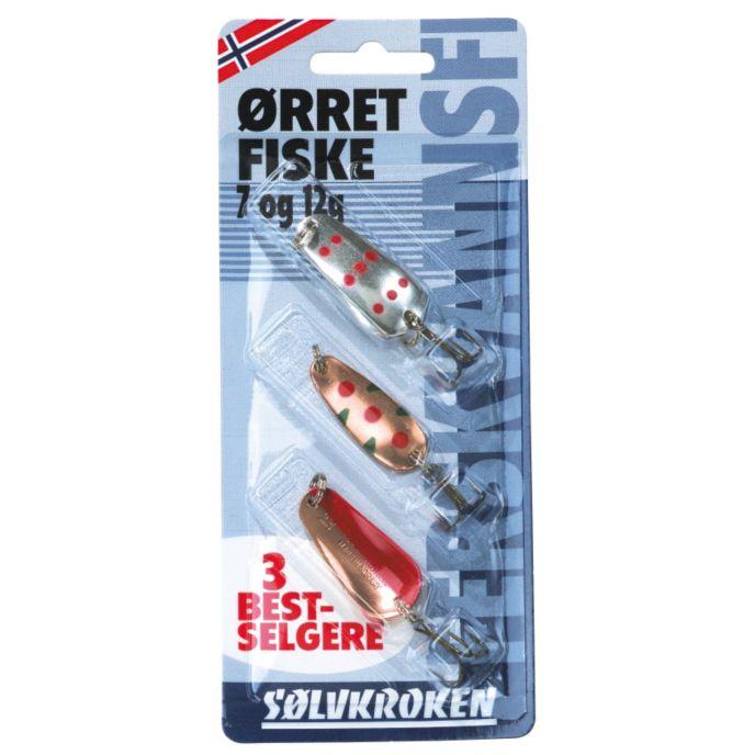 Sluksett Ørret 3 Pk