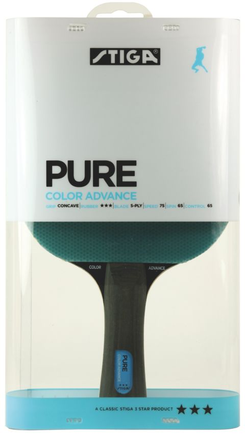 Pure Color Advance Blå Bordtennisracket