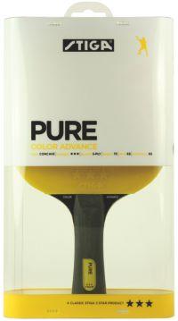 Pure Color Advance Gul Bordtennisracket
