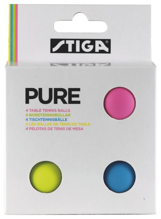 Pure 4-Pack Bordtennisballer