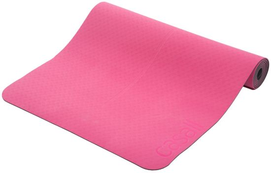 Position 4mm Yogamatte PINK/BLACK