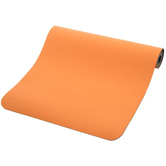 Position 4mm Yogamatte SOFT ORANGE/PRO