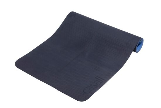 Position Yogamatte 4 mm DARK NAVY/BLUE
