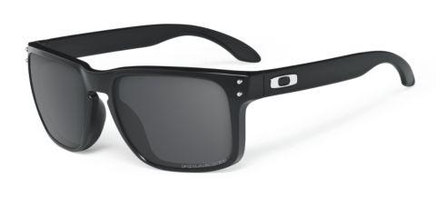 Holbrook Gray Polarized -  Polished Black